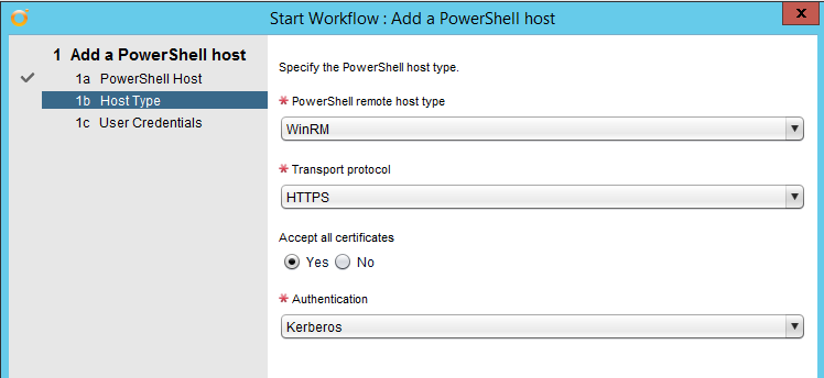 Using CredSSP with the vCO PowerShell Plugin (SKKB1002