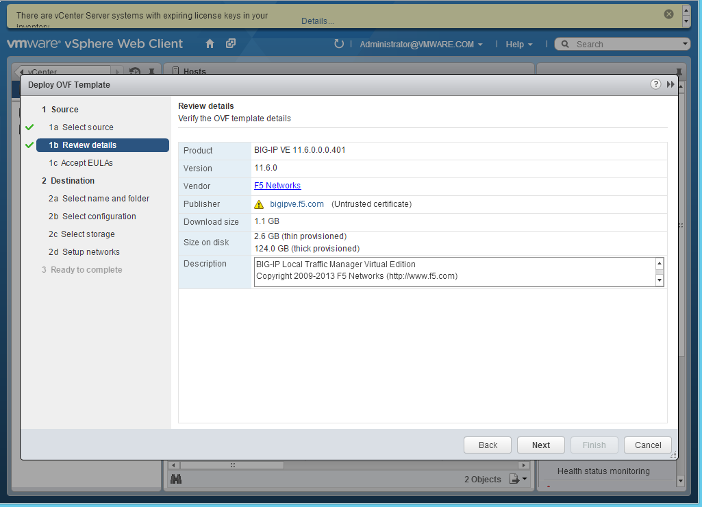 Configuring vRealize Automation Load Balancing Using F5 BIG