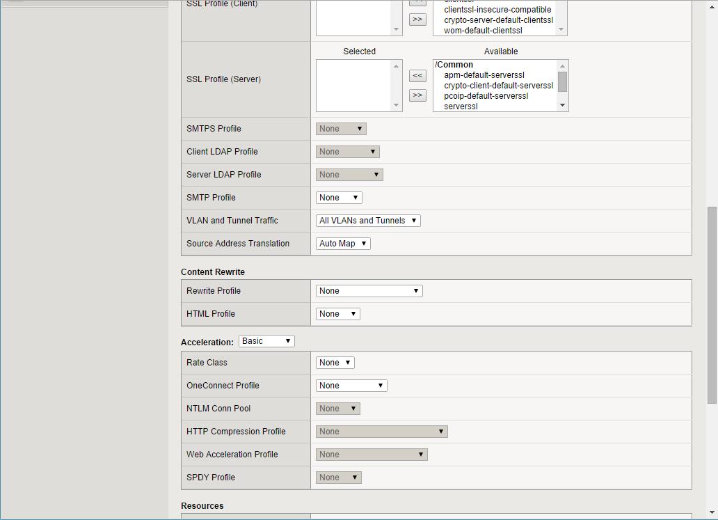 Configuring vRealize Automation Load Balancing Using F5 BIG