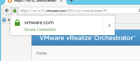 How to change the SSL certificate of a vRO Appliance (7 x