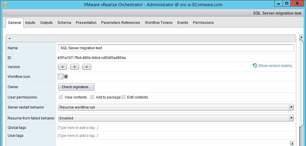 Migrating The VRO SQL Database To New Server (SKKB1032)