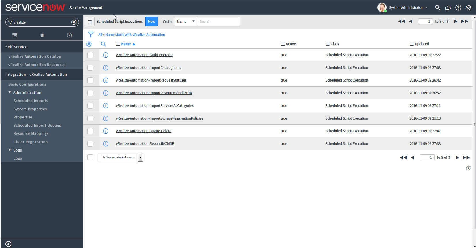 Configuring the vRealize Automation Plug-in for ITSM